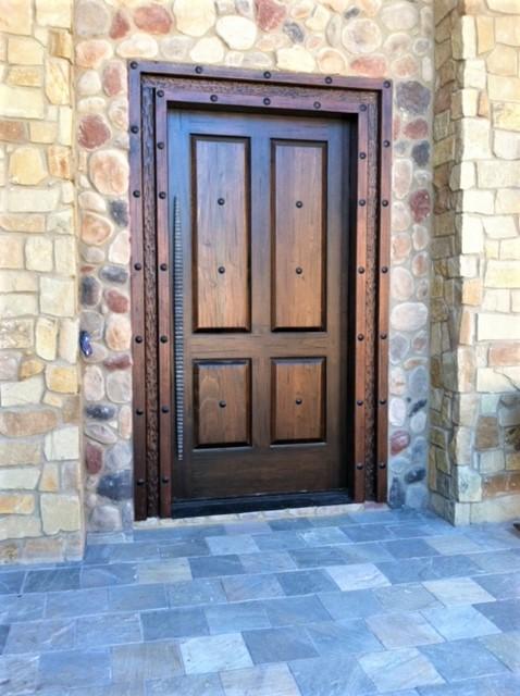 Exterior Artisanal Door