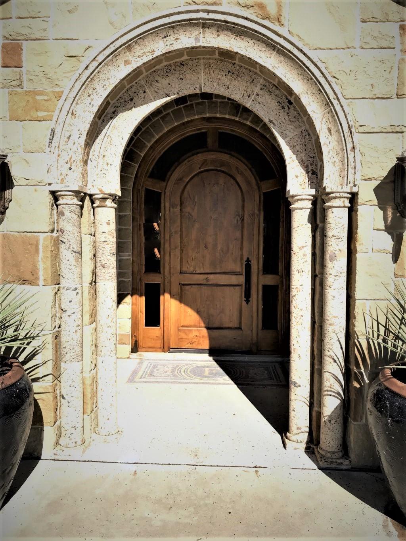 Wooden Artisan Door