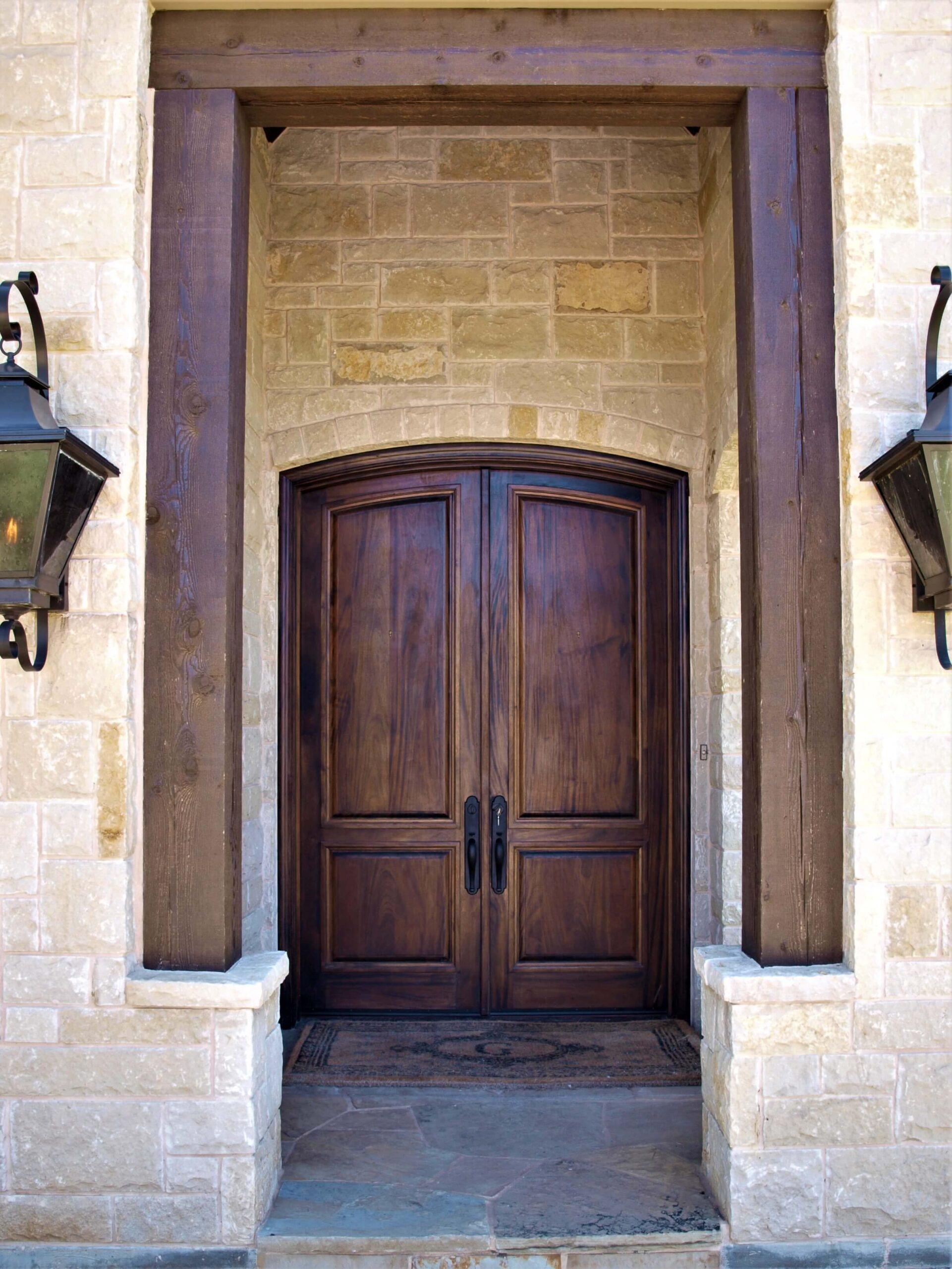Wooden Double Artisanal Doors