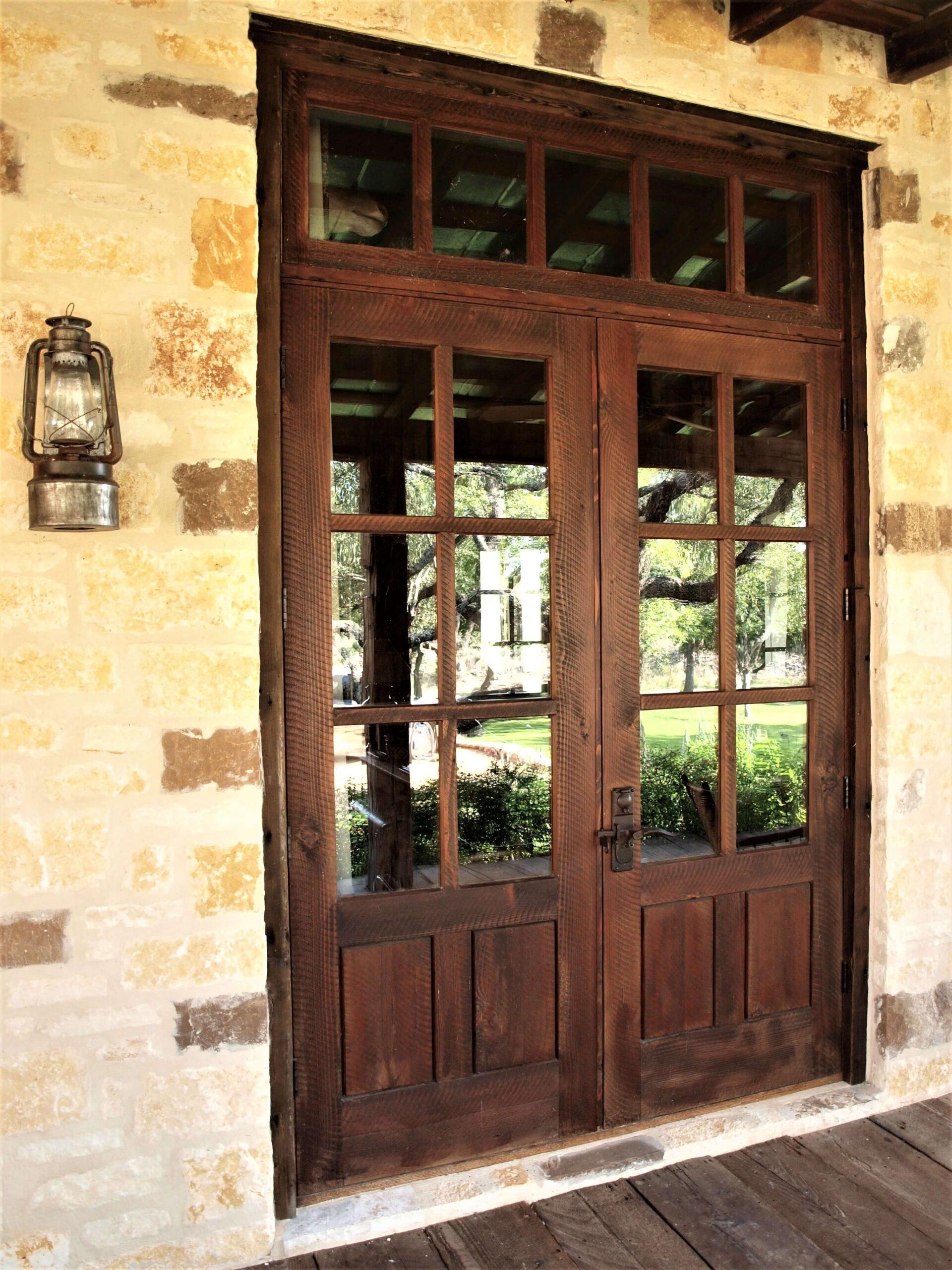 Double Artisanal Door