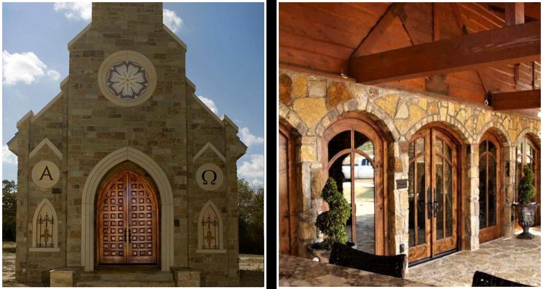 Classic Church Door